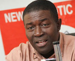 Nana Akomea,  former Director of Communications of the New Patriotic Party