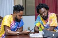 Dead Peepol is made up of Kofi Control and Kweku Richie