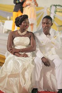 Evander Kwame Agyemang and Helena Agyemang