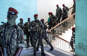 Coup Leaders Soliders