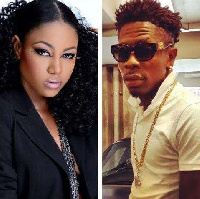 Yvonne Nelson and Shatta Wale
