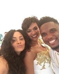 Menaye Donkor, Etoo and wife