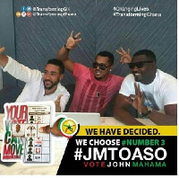 Van Vicker, Majid Michel and John Dumelo