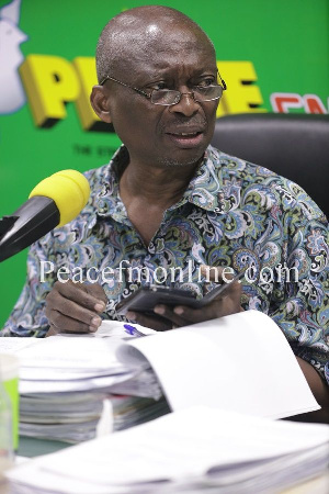 Dead men don't talk so he can't defend himself - Baako on Ahwoi's account of Mills' inactions