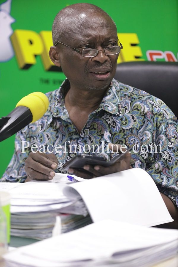 Dead men don\'t talk so he can\'t defend himself - Baako on Ahwoi\'s account of Mills\' inactions