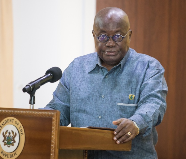 We can defeat coronavirus if we are united – Akufo-Addo