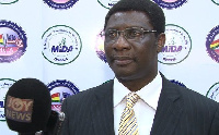 Owura Kwaku Sarfo, Chief Executive Officer of MiDA