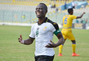 Black Stars midfielder Agyemang Badu
