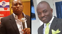 Chairman Wontumi and Odeneho Kwaku Appiah the new Ashanti regional Chairman