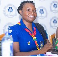Chief Commissioner of Ghana Girl Guides Association, Zakya Abdul Wahab