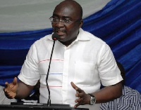 Dr Alhaji Mamudu Bawumia, the New Patriotic Party (NPP) Vice Presidential Candidate