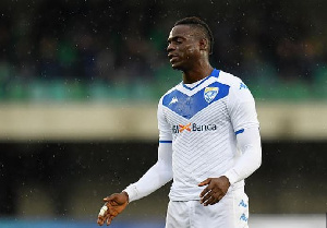 Mario Balotelli is without a club since he terminated his deal with Brescia