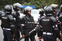 Ghana Police file photo