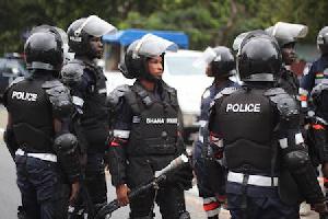 Ghana Police Ready