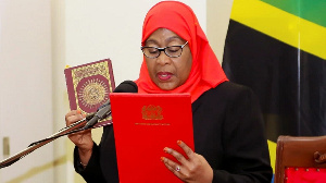New Tanzanian president Samia Suluhu Hassan