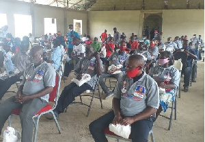 File photo: Some delegates who voted at the just ended primaries