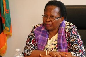 The late CJ Ireen Mambilima