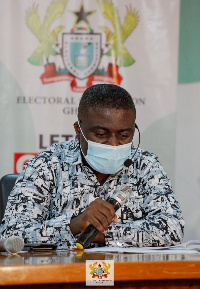 Dr Bossman Eric Asare, Deputy Chairman of the EC in-charge of Corporate Services