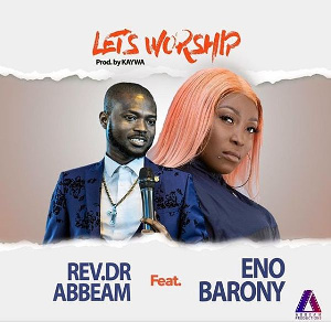 Eno Barony and Rev Abbeam Danso