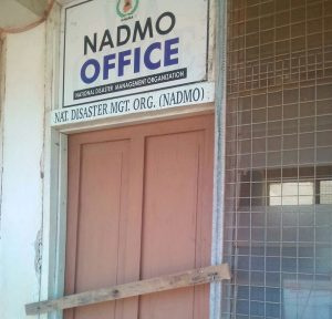 Officials of NADMO were not in the office at the time of the incident.