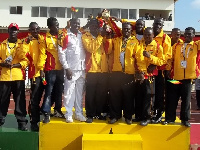 The Black Bombers still have three other boxers who can still win a medal for Ghana
