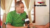 Ivor Kobina Greenstreet, 2016 flag bearer of the Convention People's Party (CPP)