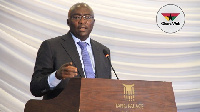 Dr  Mahamudu Bawumia, the Vice President of Ghana, led the dialogue on behalf of the Ghanaian gov't