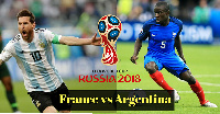 France and Argentina face off for a spot in the quarter-finals of the 2018 World Cup