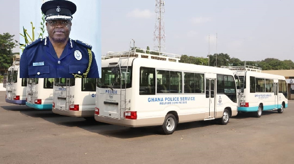 Police personnel heap praises on IGP for procuring 18 brand new welfare buses