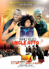 'Who killed Uncle Atta' movie will first be premiered at Miklin hotel in Kumasi.