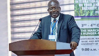 Prof. Eric Danquah, Founding Director of the West Africa Center for Crop Improvement