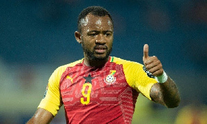 Black Stars striker, Jordan Ayew