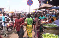 Traders are back selling on the pavement barely a week after the incident that injured many
