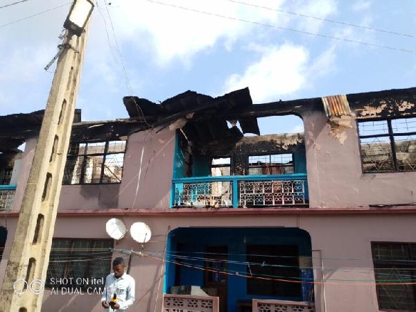 Fire kills 56-year-old man at Asafo in Kumasi