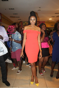 Yvonne Nelson at the premiere of Heels and Sneakers