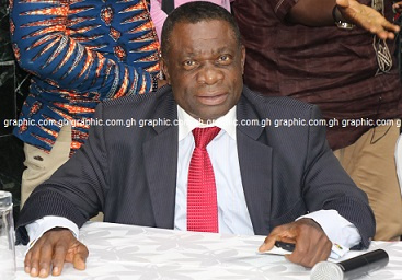 Lawyer Duah Adonteng, member of Normalization Committee