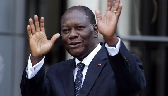 President of Côte d'Ivoire, Alassane Ouattara