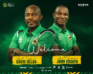 The new assistant coaches of Asante Kotoko