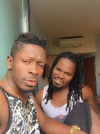 Shatta Wale and former Road Manager Ras Diportee