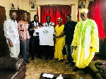is Excellency Pingrenoma Zagre was presented with a club shirt