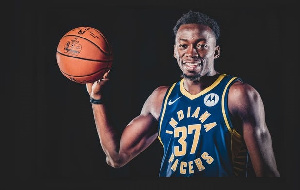 Ghanaian NBA player, Amida Brimah