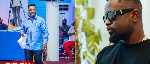 Nigel Gaisie blesses Sarkodie after his name features in rapper's 'No pressure' album