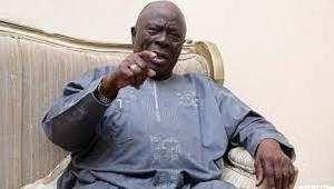 Leader of Yoruba socio-political group, Afenifere, Chief Ayo Adebanjo