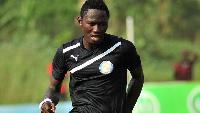 Ghanaian striker Eric Bekoe