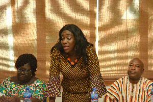 Minister of Tourism, Arts and Culture, Catherine Abelema Afeku