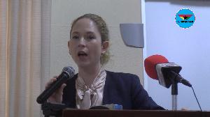 Ms. Dorothee Dinkelaker, Head of Cooperation at the German Embassy