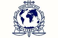 Logo of Interpol, the international police organization