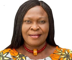 Executive Director, Hope for Future Generations and Focal Person-GFAN-Africa, Cecilia Senoo
