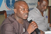 Mr. Anthony Ameka, is the CEO of the Ghana National Chamber of Pharmacy