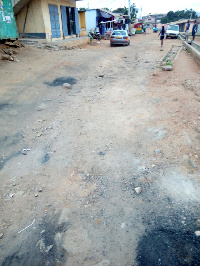 poor roads affecting the residents of kwashieman.